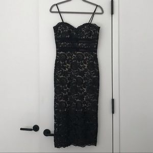 XSCAPE Lace Cocktail Dress, Size 6